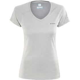 Columbia Zero Rules t-shirt Dames grijs